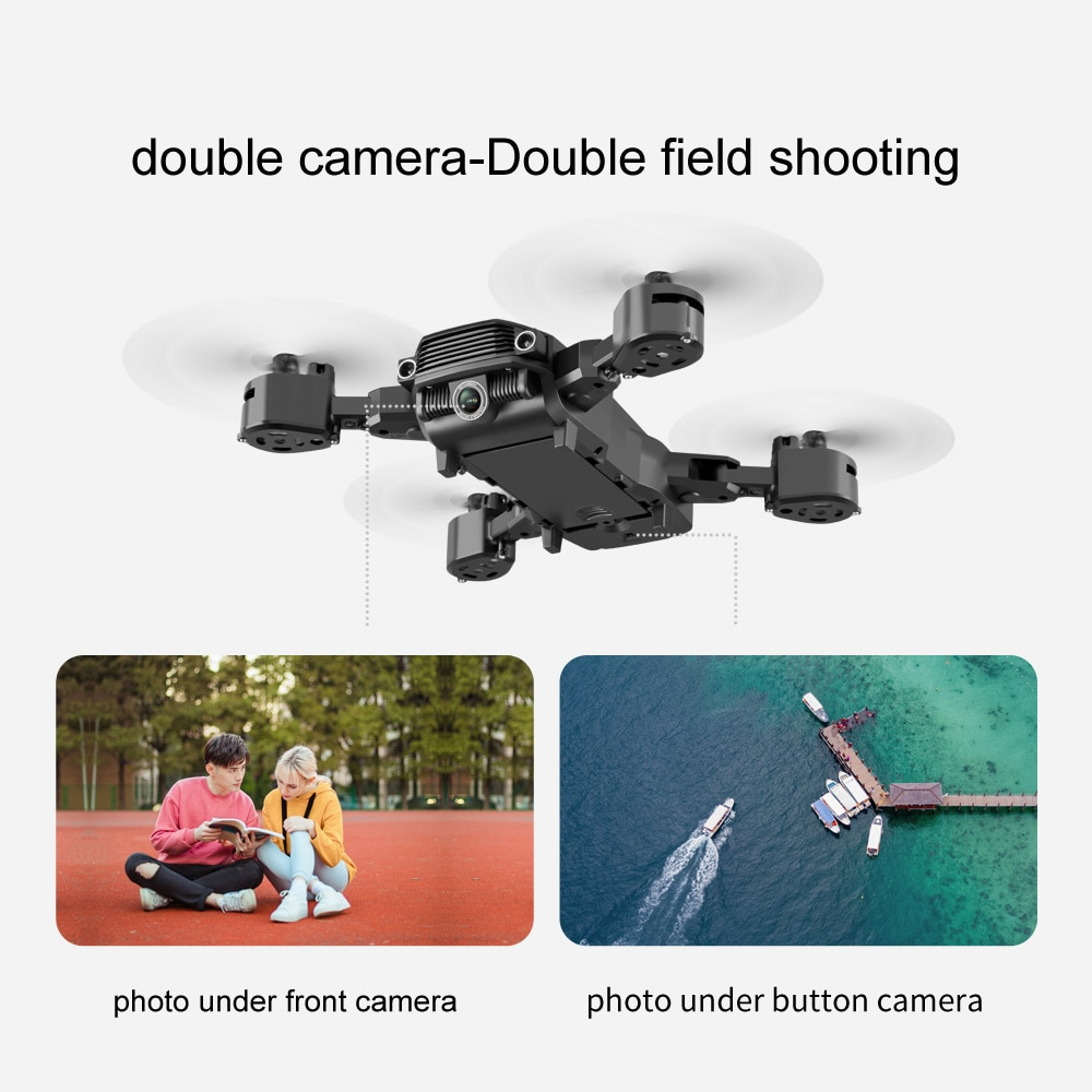 Foldable RC Drones With Dual Camera