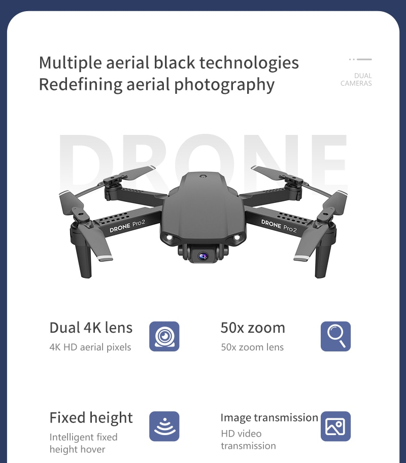 Best Budget Mini Drone With 50x Zoom