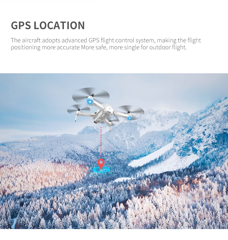GPS FPV Drones With 4K Resolution Cameras